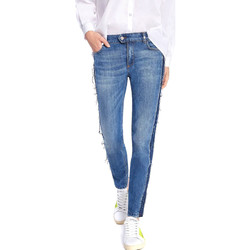 vaatteet Naiset Slim-farkut Byblos Blu 2WJ0004 TE0135 Sininen