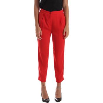 vaatteet Naiset Chino-housut / Porkkanahousut Byblos Blu 2WP0002 TE0012 Punainen