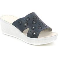 kengät Naiset Sandaalit Grunland CI1561 Sininen