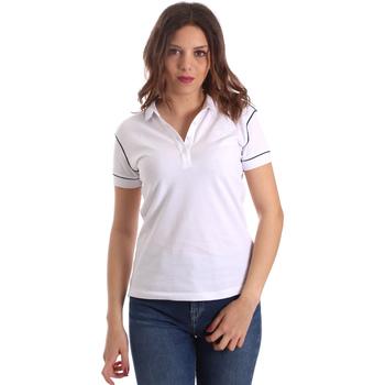 vaatteet Naiset Lyhythihainen poolopaita La Martina NWP002 PK001 Valkoinen