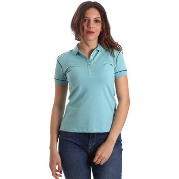 vaatteet Naiset Lyhythihainen poolopaita La Martina NWP002 PK001 Sininen
