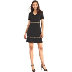 vaatteet Naiset Lyhyt mekko Gaudi 911FD15006 Musta
