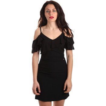 vaatteet Naiset Lyhyt mekko Gaudi 911FD15049 Musta
