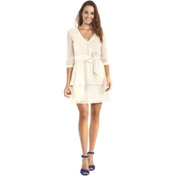 vaatteet Naiset Lyhyt mekko Gaudi 911BD15005 Beige