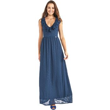 vaatteet Naiset Pitkä mekko Gaudi 911BD15007 Sininen