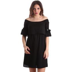 vaatteet Naiset Lyhyt mekko Gaudi 911BD15015 Musta