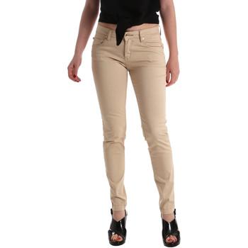vaatteet Naiset Skinny-farkut Gaudi 911BD25010 Beige