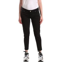vaatteet Naiset Slim-farkut Gaudi 911BD25011 Musta
