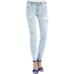 vaatteet Naiset Boyfriend-farkut Gaudi 911BD26013 Sininen