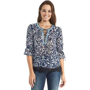 vaatteet Naiset Topit / Puserot Gaudi 911BD45013 Sininen