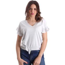 vaatteet Naiset Topit / Puserot Gaudi 911BD53010 Harmaa
