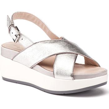 kengät Naiset Sandaalit ja avokkaat Lumberjack SW27006 009 O16 Hopea