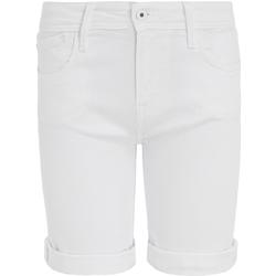vaatteet Naiset Shortsit / Bermuda-shortsit Pepe jeans PL800493TA2 Valkoinen