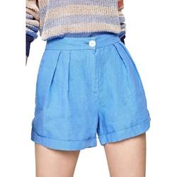 vaatteet Naiset Shortsit / Bermuda-shortsit Pepe jeans PL800839 Sininen