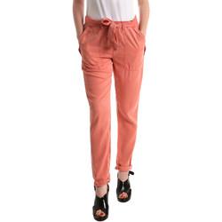 vaatteet Naiset Chino-housut / Porkkanahousut Pepe jeans PL2113030 Oranssi