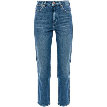 vaatteet Naiset Suorat farkut Wrangler W238TN Sininen