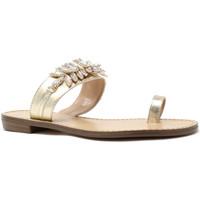 kengät Naiset Varvassandaalit Gold&gold A19 GL303 Kulta