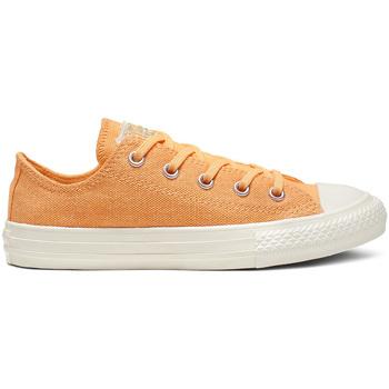kengät Lapset Matalavartiset tennarit Converse 364194C Oranssi