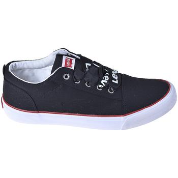 kengät Lapset Matalavartiset tennarit Levi's VCAS0006T Musta