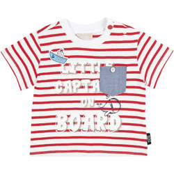 vaatteet Lapset T-paidat pitkillä hihoilla Chicco 09006680000000 Punainen