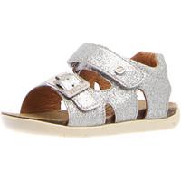kengät Tytöt Sandaalit ja avokkaat Naturino 1500763-04-0Q04 Hopea