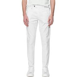 vaatteet Miehet Chino-housut / Porkkanahousut Antony Morato MMTR00496 FA800129 Valkoinen