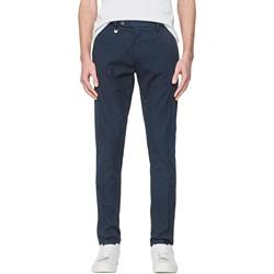 vaatteet Miehet Chino-housut / Porkkanahousut Antony Morato MMTR00496 FA800127 Sininen