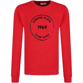vaatteet Miehet Svetari Calvin Klein Jeans K10K104548 Punainen