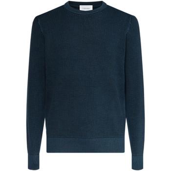 vaatteet Miehet Neulepusero Calvin Klein Jeans K10K104721 Sininen
