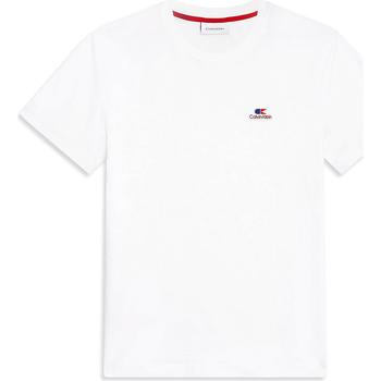 vaatteet Miehet Lyhythihainen t-paita Calvin Klein Jeans K10K103959 Valkoinen