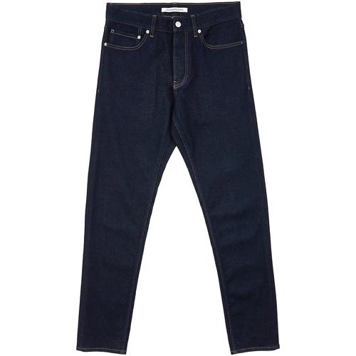 vaatteet Miehet Suorat farkut Calvin Klein Jeans J30J312022 Sininen