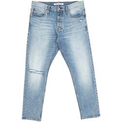 vaatteet Miehet Suorat farkut Calvin Klein Jeans J30J312380 Sininen