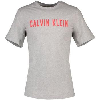 vaatteet Miehet Lyhythihainen t-paita Calvin Klein Jeans 00GMF8K160 Harmaa