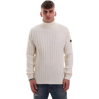 vaatteet Miehet Neulepusero Navigare NV10233 Valkoinen