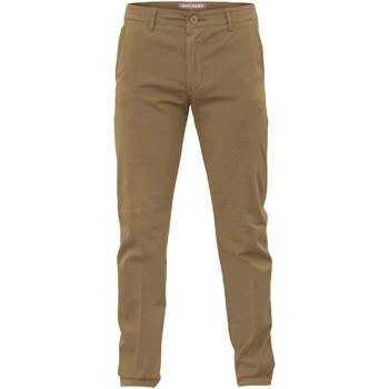 vaatteet Miehet Chino-housut / Porkkanahousut Navigare NV53079 Ruskea
