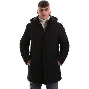 vaatteet Miehet Paksu takki Navigare NV68081 Musta
