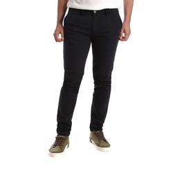 vaatteet Miehet Chino-housut / Porkkanahousut Gaudi 921FU25015 Sininen
