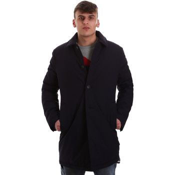 vaatteet Miehet Paksu takki Gaudi 921FU35011 Sininen
