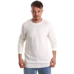vaatteet Miehet Neulepusero Gaudi 921FU53020 Valkoinen