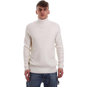 vaatteet Miehet Neulepusero Gaudi 921FU53048 Valkoinen