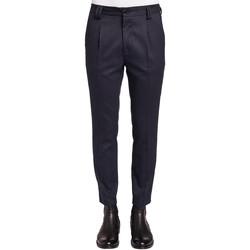 vaatteet Miehet Puvun housut Gaudi 921FU25024 Sininen