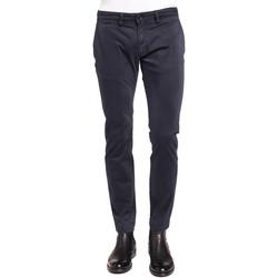 vaatteet Miehet Chino-housut / Porkkanahousut Gaudi 921BU25008 Sininen