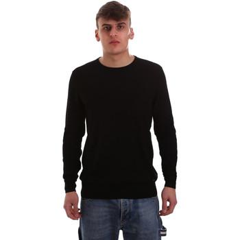 vaatteet Miehet Neulepusero Gaudi 921BU53004 Musta