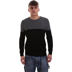 vaatteet Miehet Neulepusero Gaudi 921BU53010 Musta