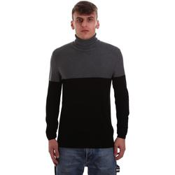 vaatteet Miehet Neulepusero Gaudi 921BU53011 Musta
