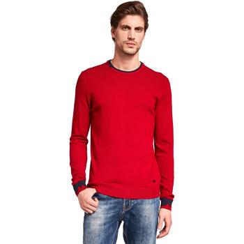 vaatteet Miehet Neulepusero Gaudi 921BU53012 Punainen