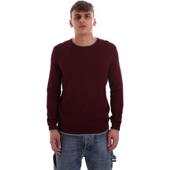 vaatteet Miehet Neulepusero Gaudi 921BU53036 Punainen