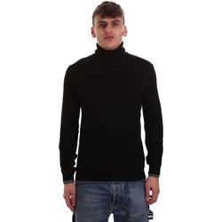 vaatteet Miehet Neulepusero Gaudi 921BU53040 Musta