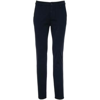 vaatteet Miehet Chino-housut / Porkkanahousut NeroGiardini A970540U Sininen