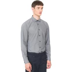 vaatteet Miehet Pitkähihainen paitapusero Antony Morato MMSL00548 FA430389 Sininen